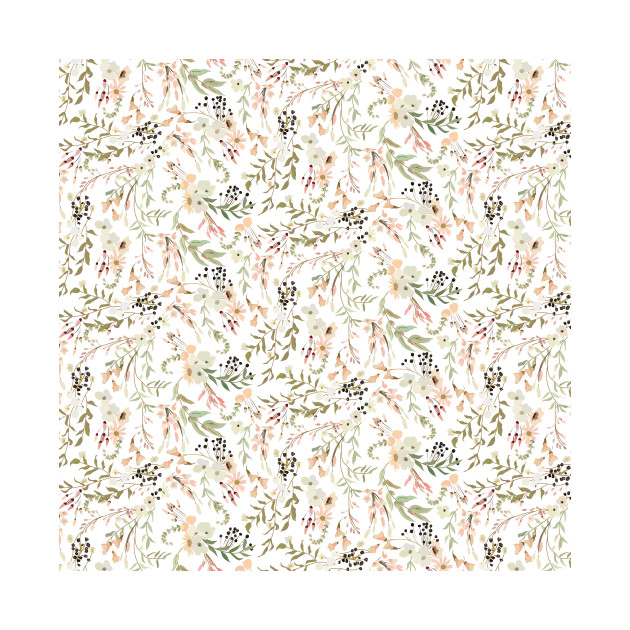 Trailing Floral Pattern
