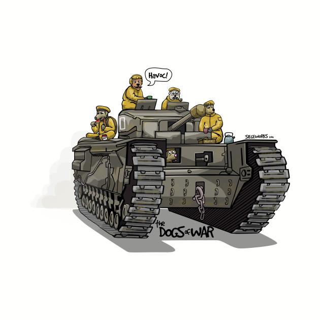 The Dogs of War: Churchill Tank