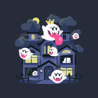 Ghost House t-shirts
