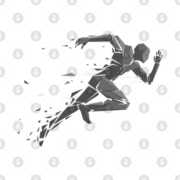 Runner graphic