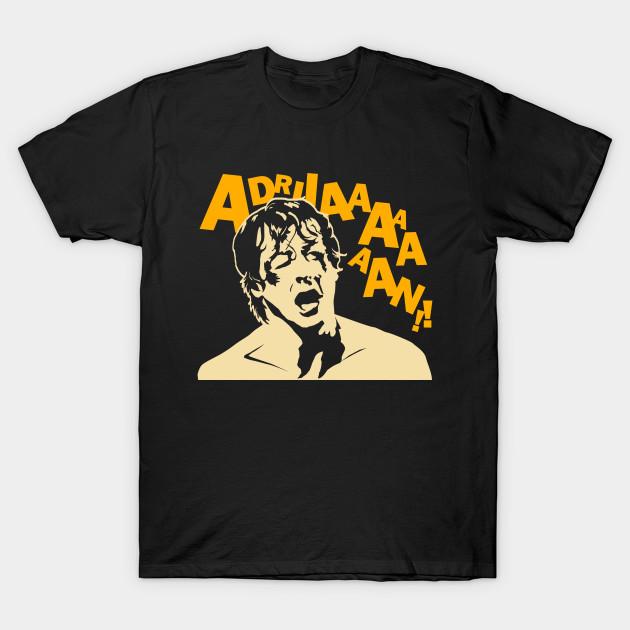 Rocky (Adrian) - Moseisly - T-Shirt | TeePublic