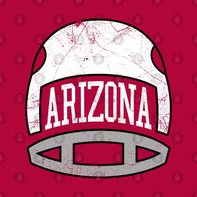 Arizona Retro Helmet - Red