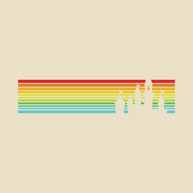 Retro Travel Stripes