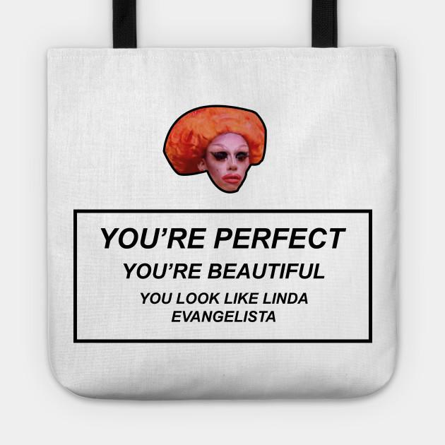 Rupaul's Drag Race - You look Like Linda Evangelista
