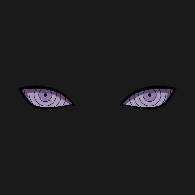 eyes of six paths rinnegan tote teepublic