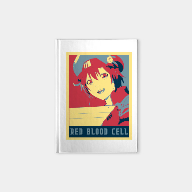 Red Blood Cell - Cells At Work Poltical | Anime Shirt