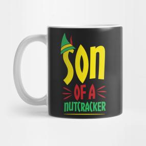 Son Of A Nutcracker Christmas Sweater Mugs Teepublic