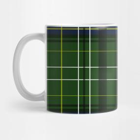 Tartan in green... Mug