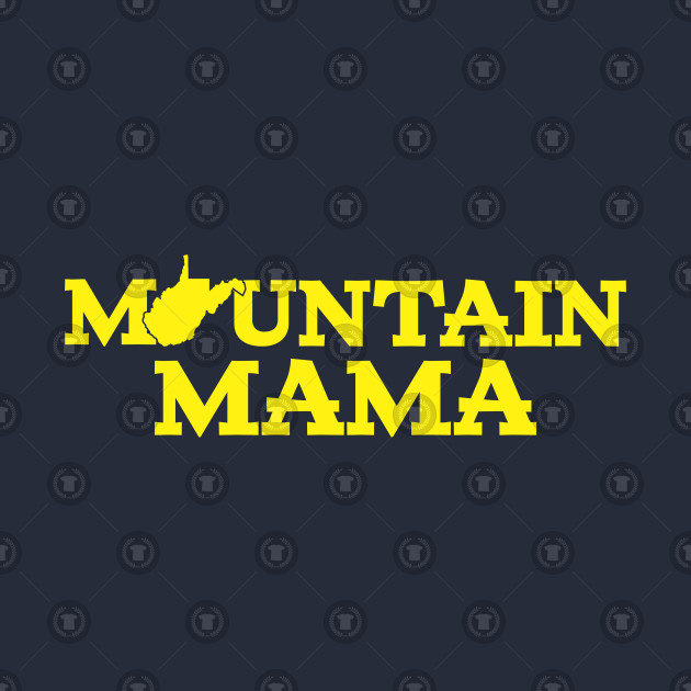 9d92cce1b ... Kids Long Sleeve T-Shirt. New!Back Print. Mountain Mama WV Blue and Gold  Mountain Mama WV Blue and Gold