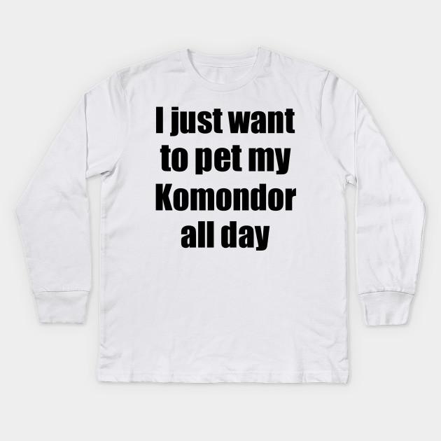 308aeb29 Komondor Dog Lover Mom Dad Funny Gift Idea - Komondor Dog - Kids ...