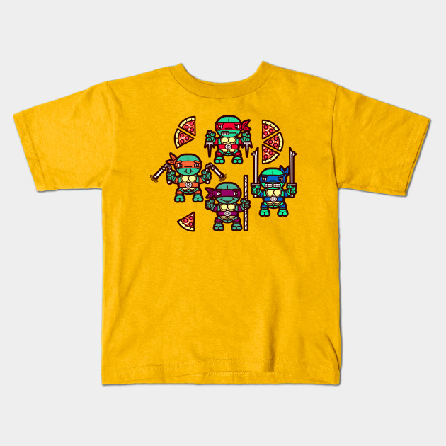 20e468fec Teenage Mutant Ninja Turtles Pizza Party - Ninja Turtles - Kids T ...