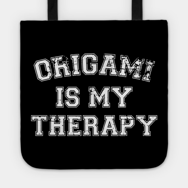 Origami Is My Therapy
