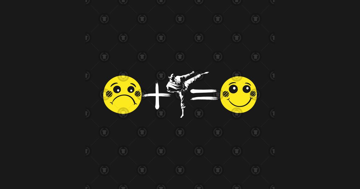 Martial Arts Emoji Funny Combat Fighter Karate Action Sports Kick Boxing  Taekwondo Judo by psykograf
