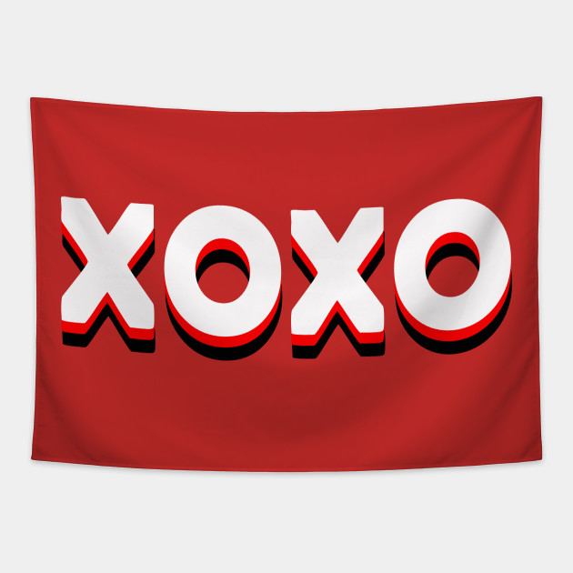 Valentines Day XOXO Floor Pillow
