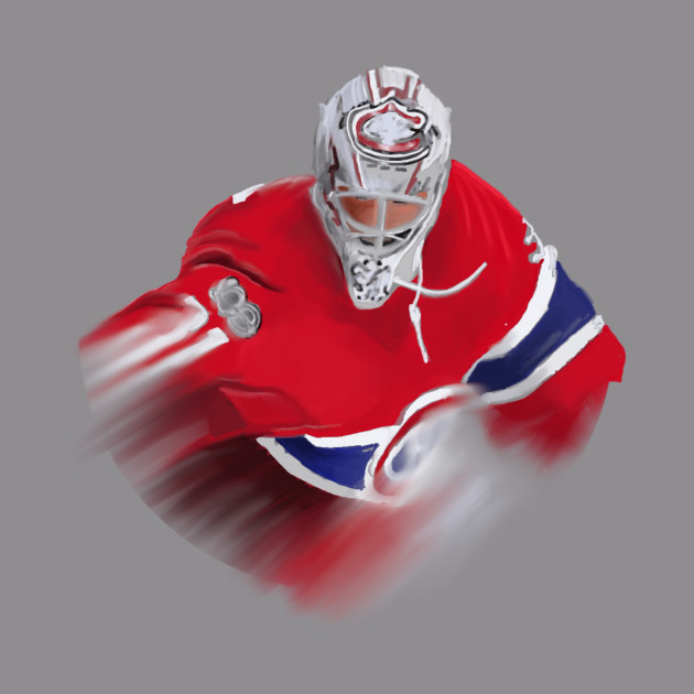 Hockey Goalie Hockey Player Crewneck Sweatshirt Teepublic