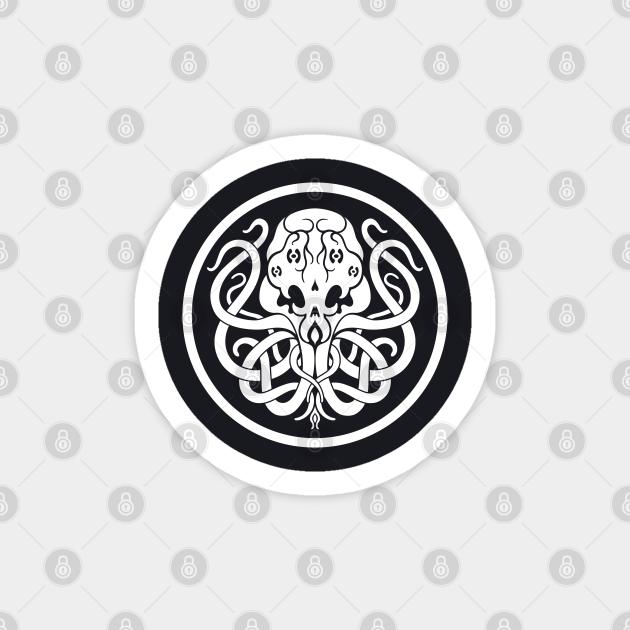 Cthulhu Symbol Cthulhu Pegatina Teepublic Mx Cthulhu is a fictional cosmic entity created by writer h. teepublic