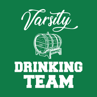 Varsity Drinking Team Funny t-shirts