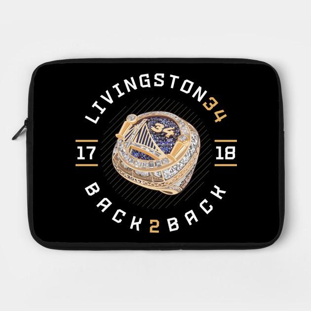 Shaun Livingston 34 Back 2 Back Championship Ring 2017-18