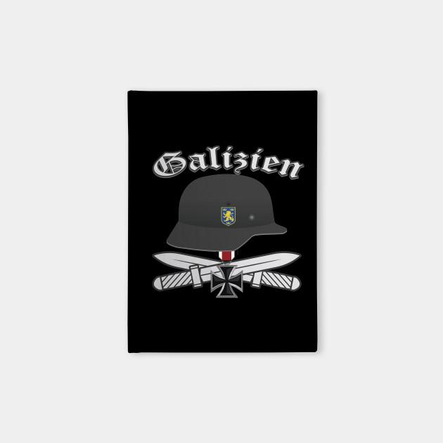 Waffen Ss Division Galizien German Notebook Teepublic