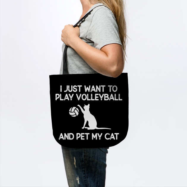 Volleyball and Cat Lover Gift