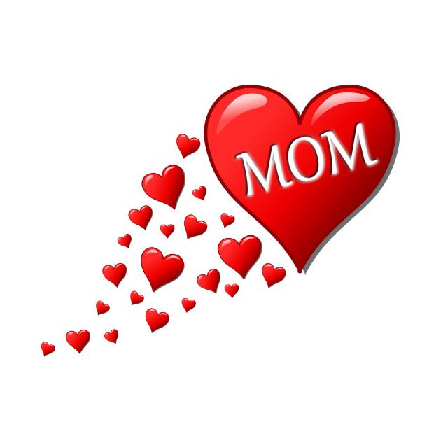 i love u mom - Mom Birthday - T-Shirt | TeePublic
