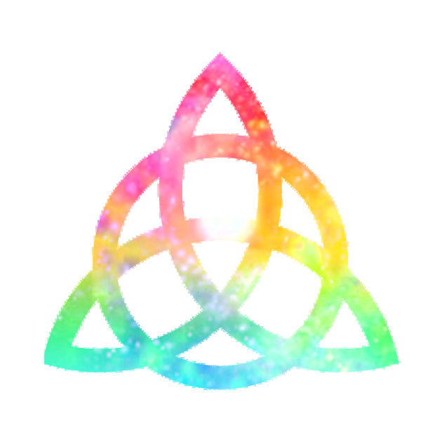Charmed - Rainbow Power of Three Emblem