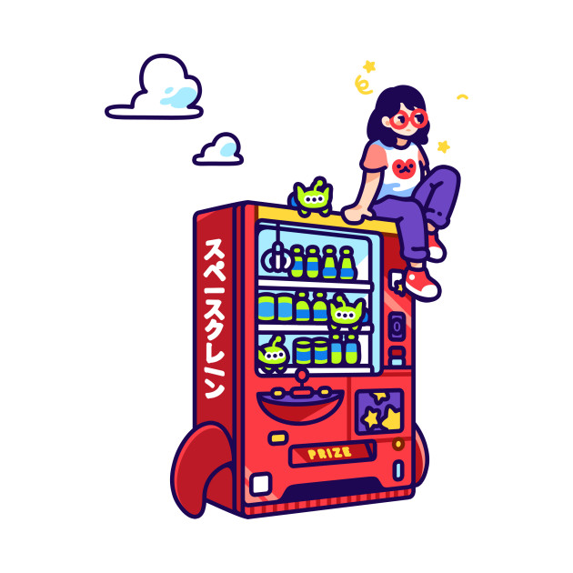 Alien Soda Claw Machine