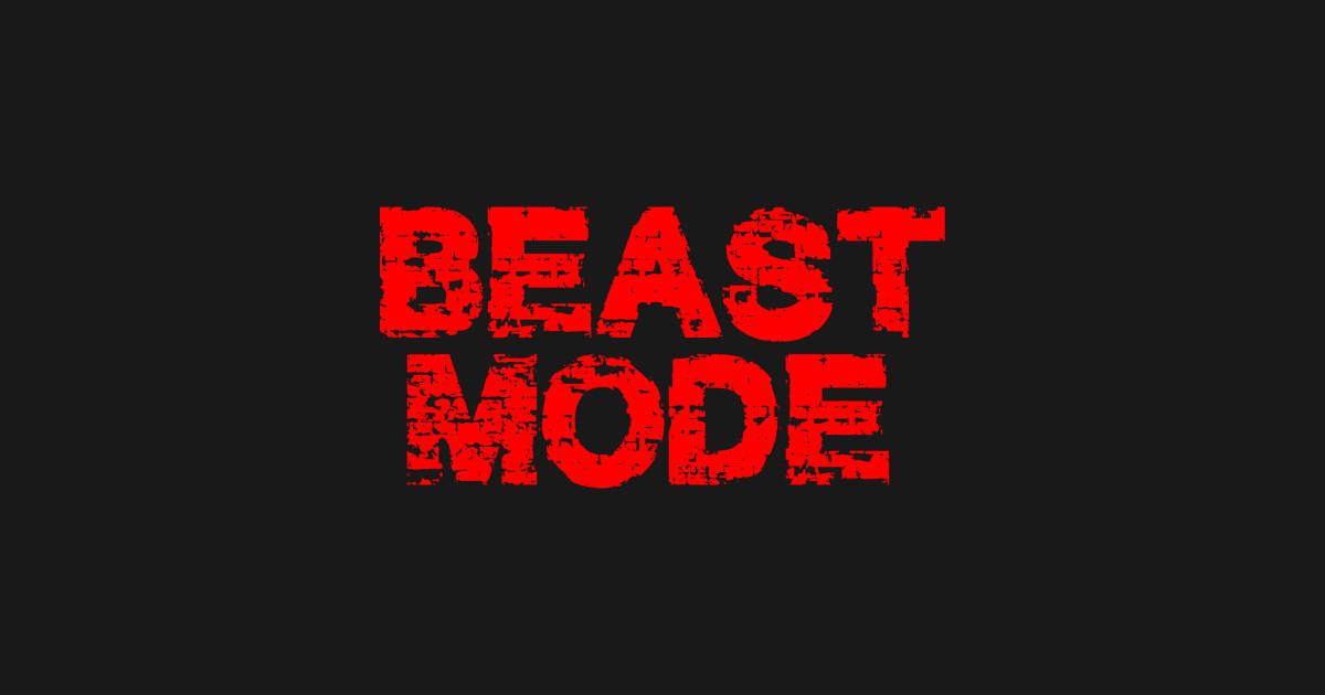 beast mode beast mode tshirt teepublic