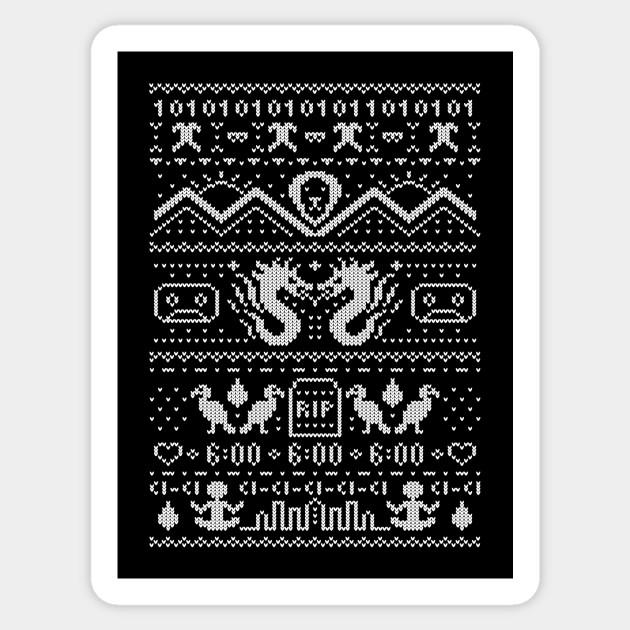 Ugly Christmas Sweater Pattern.Ugly Christmas Sweater Pattern