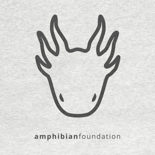 The Amphibian Foundation larval salamander logo