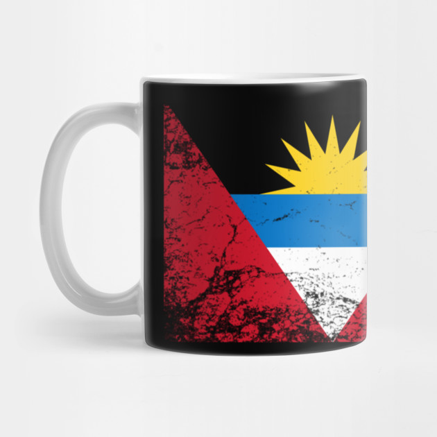 Antigua And Barbuda National Flag Vintage Gift Pullover