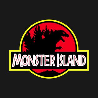 Monster Island – Millennium variant t-shirts