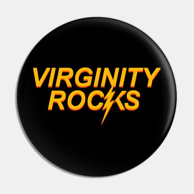 Virginity Rocks Funny Gift