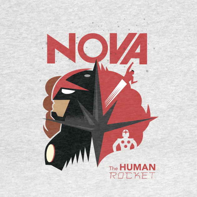 NOVA, THE HUMAN ROCKET! (Sam Alexander)