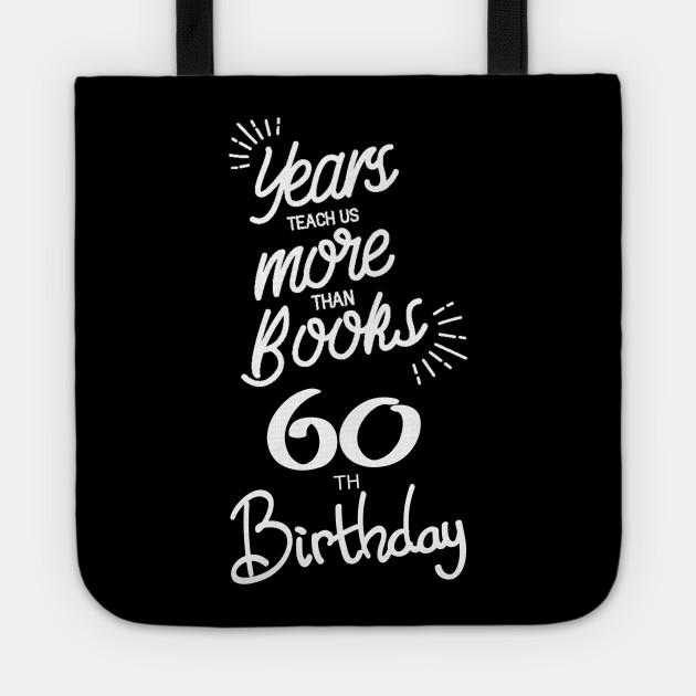 60th birthday gift ideas for men & women