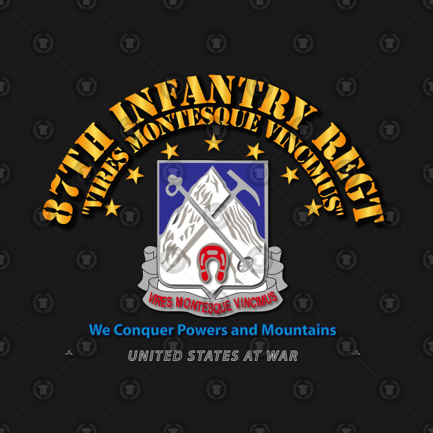 87th Infantry Regt - We Conquer