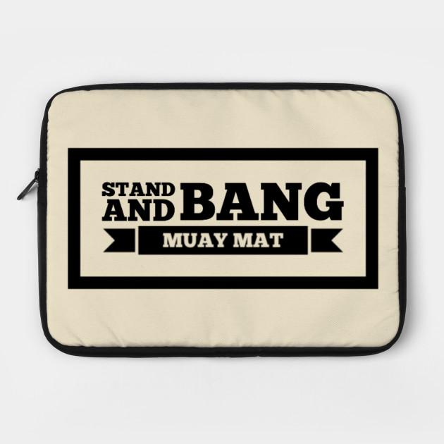 Stand and Bang Muay Mat Design