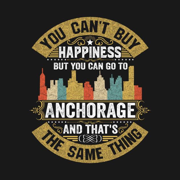 USA City Anchorage City T-Shirt I Love Anchorage Flag Alaska State Home City Anchorage Map Native American USA Flag