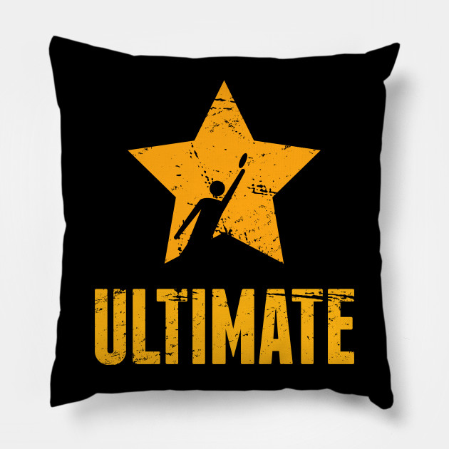 funny ultimate frisbee disc team gift ultimate frisbee pillow