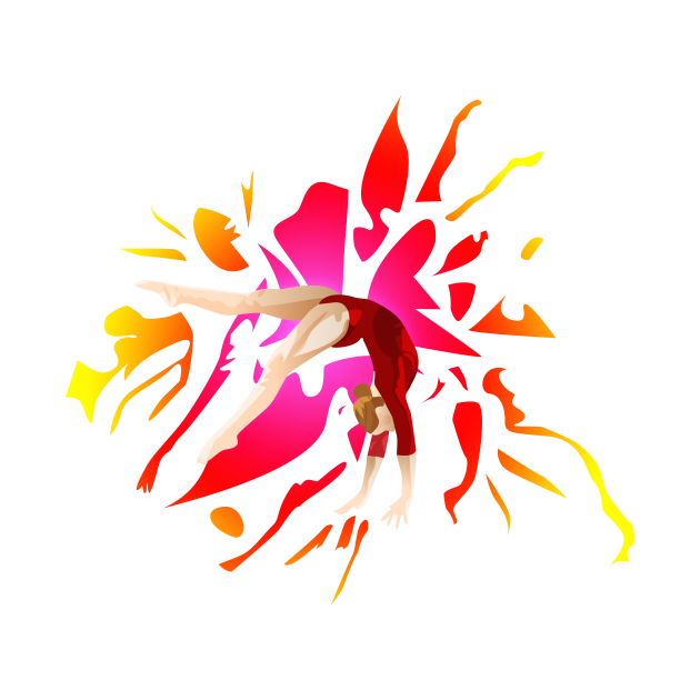 Gymnast in Motion