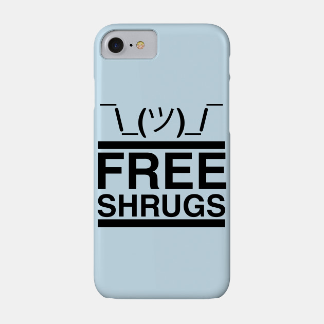 Free Shrugs (light blue)