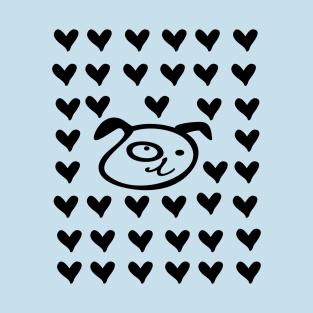 LOVE LOVE DOG t-shirts