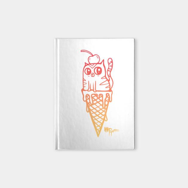 ice cream x kitty