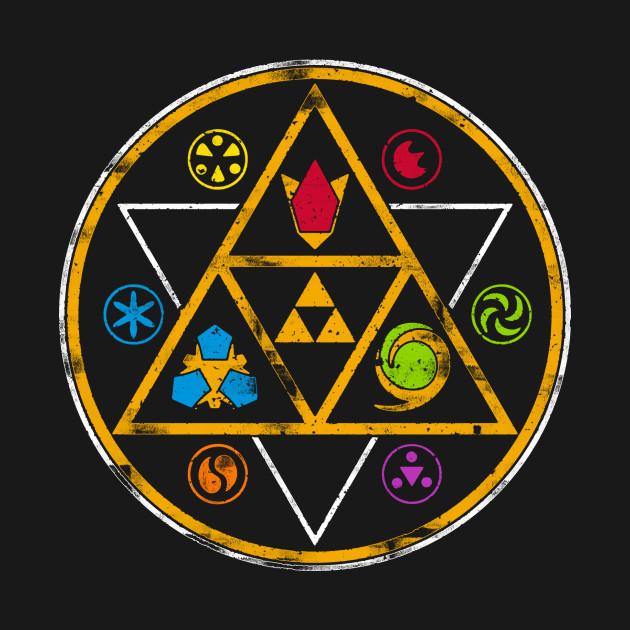 Symbols Of Time Zelda T Shirt Teepublic