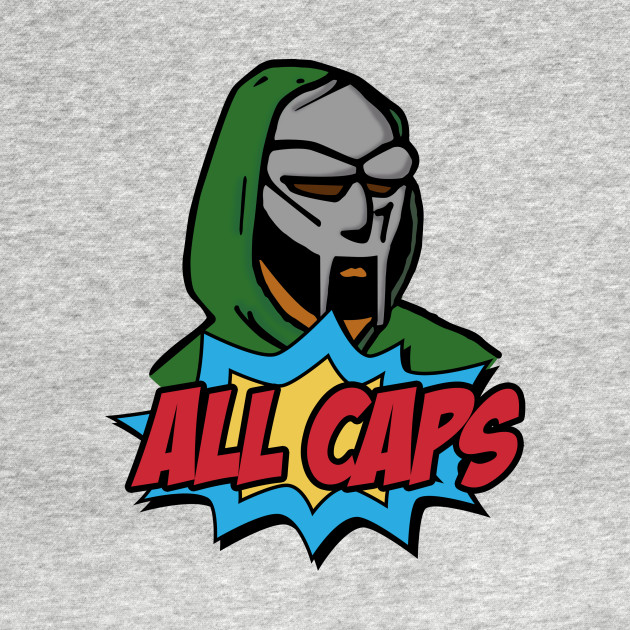 MF DOOM - ALL CAPS