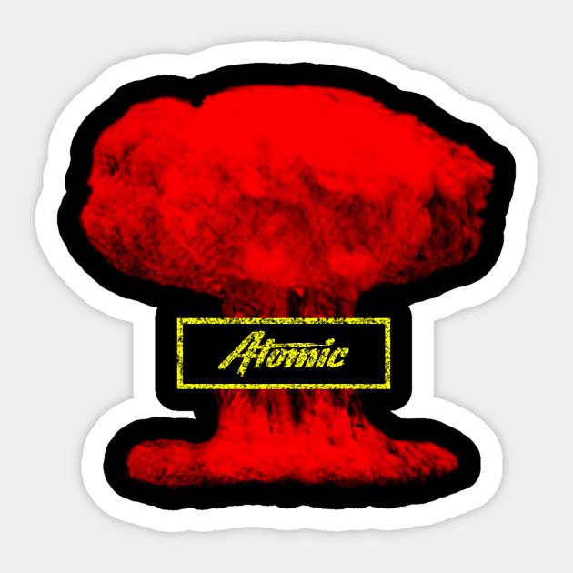 sklep z wyprzedażami ekskluzywne oferty najbardziej popularny Atomic Bomb colorful design t shirt