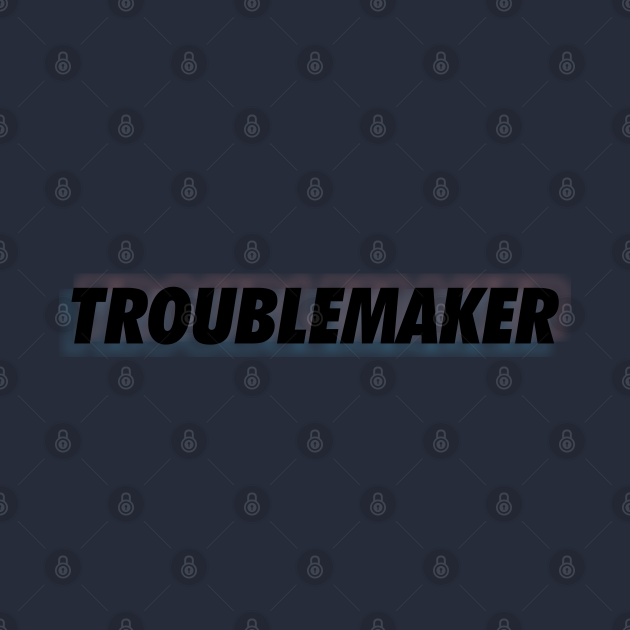 troublemaker black neon outer