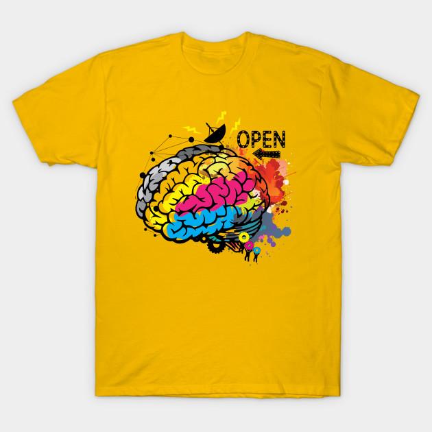 b733cd0d2 Creative Brain - Brain - T-Shirt