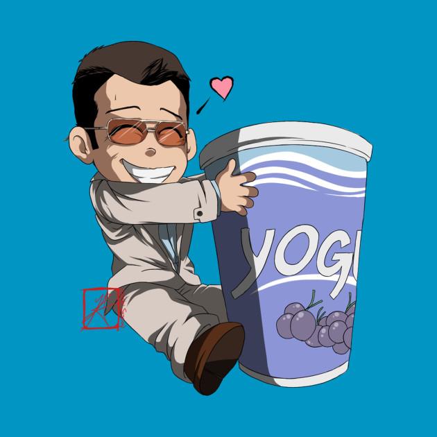 Michael and his Yogurt
