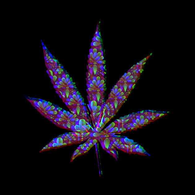 Cool Wallpaper Psychedelic Unique Weed Design